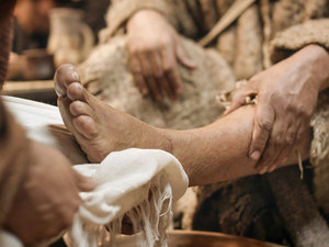 lavement pieds