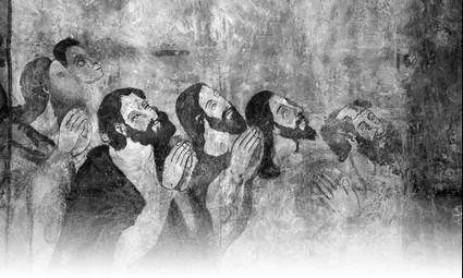 Hommes en prière